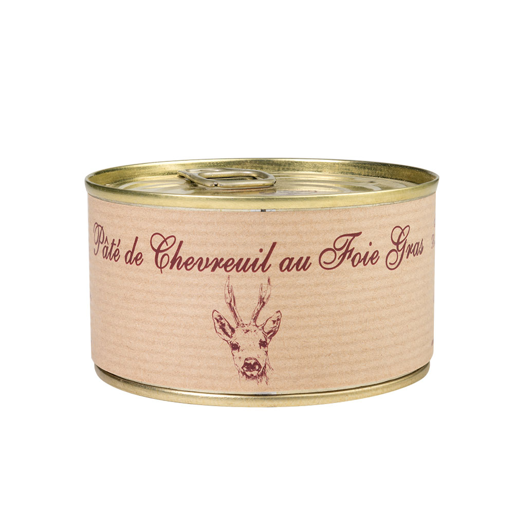 Pate chevreuil foie gras