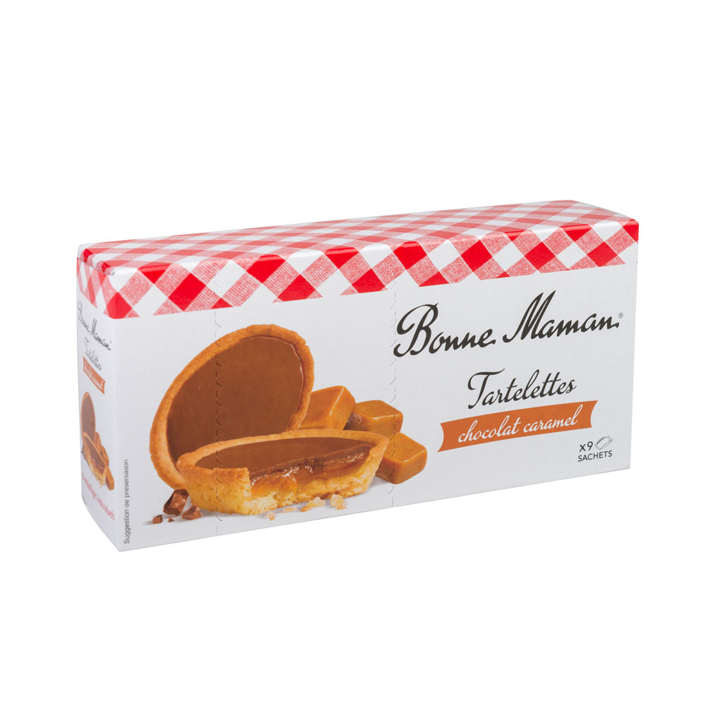 Tablette bonne maman caramel