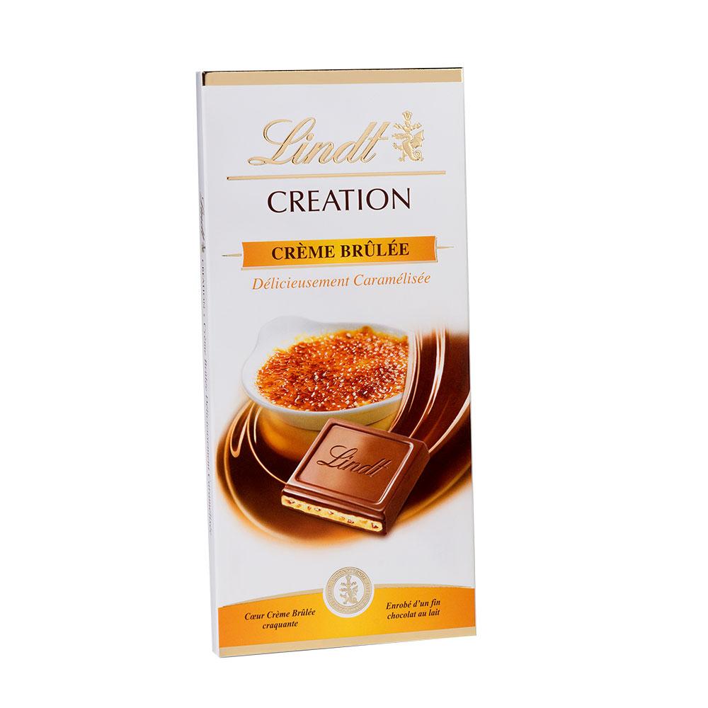 Chocolat lindt creme brulee