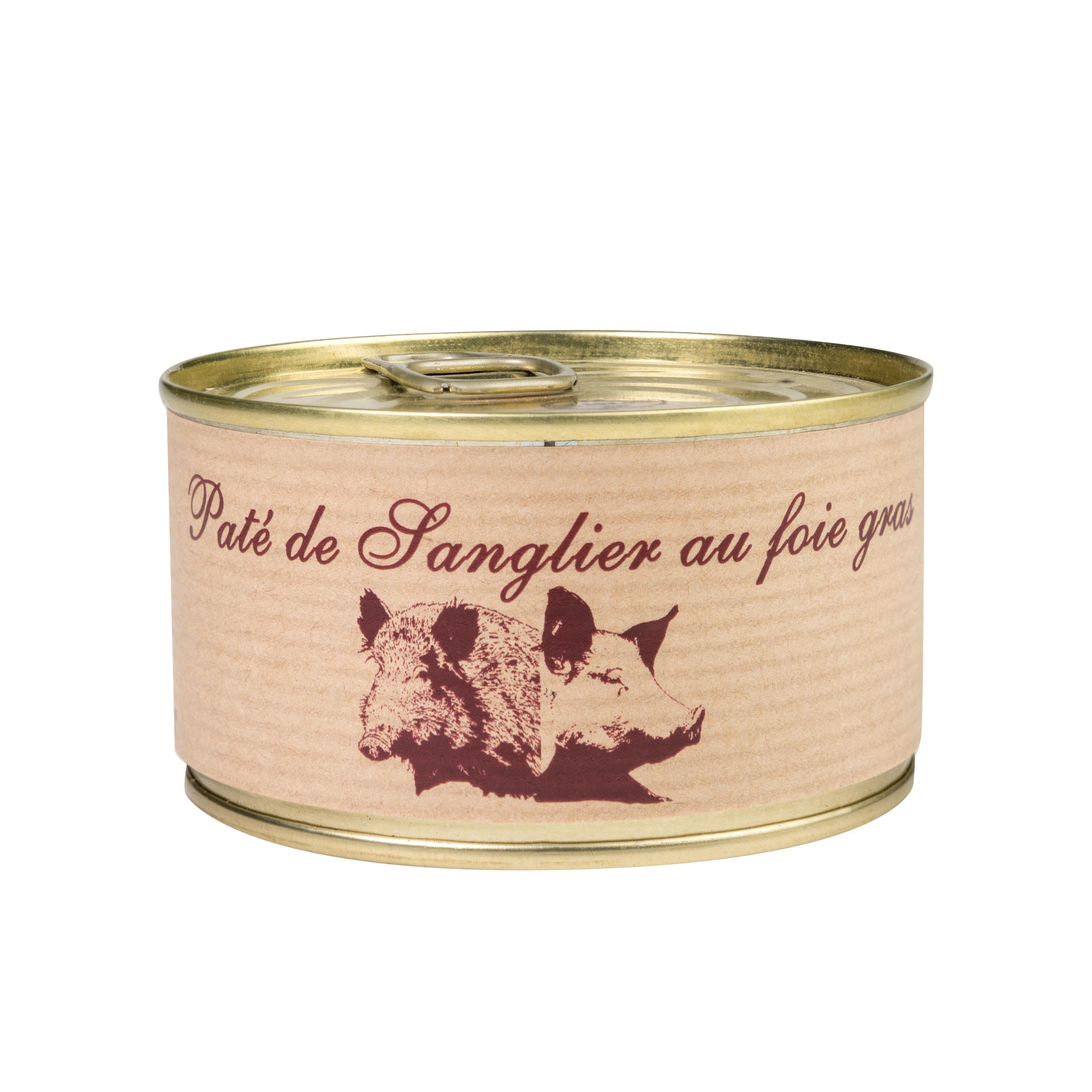Pate sanglier foie gras
